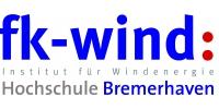 Logo fk-wind: Institut für Windenergie Hochschule Bremerhaven